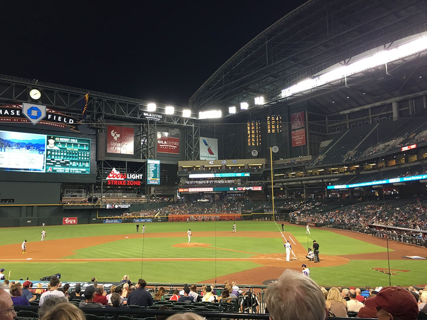 Pittsburgh Pirates against the Diamondbacks at Chase Field on Thursday, May 11