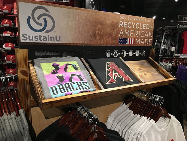 D-backs shirts found at the team shop at Chase Field on Monday, May 15