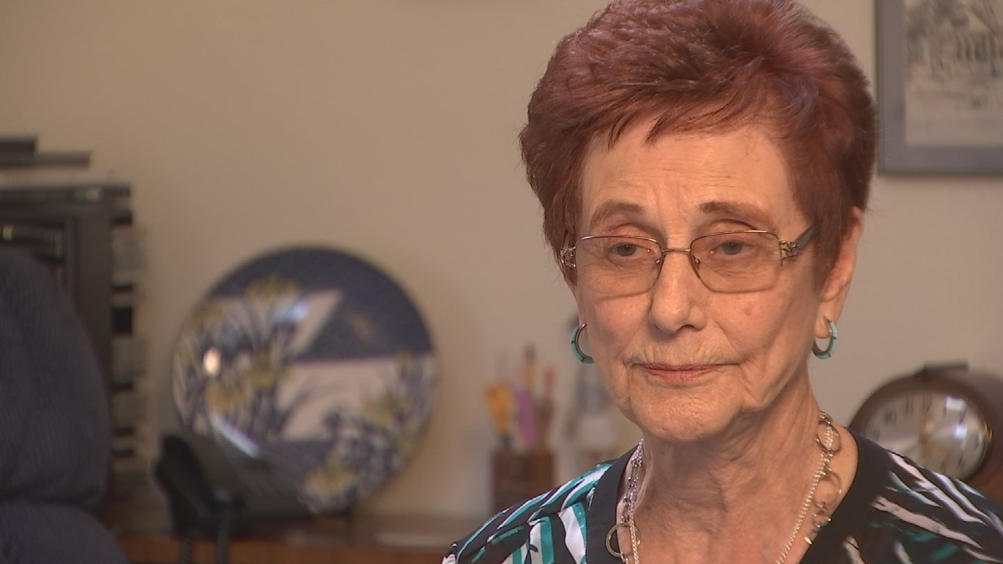 Marilyn Munkachy says before her husband died, he told her about a small life insurance policy from his employer, Marriott. (Source: 3TV)