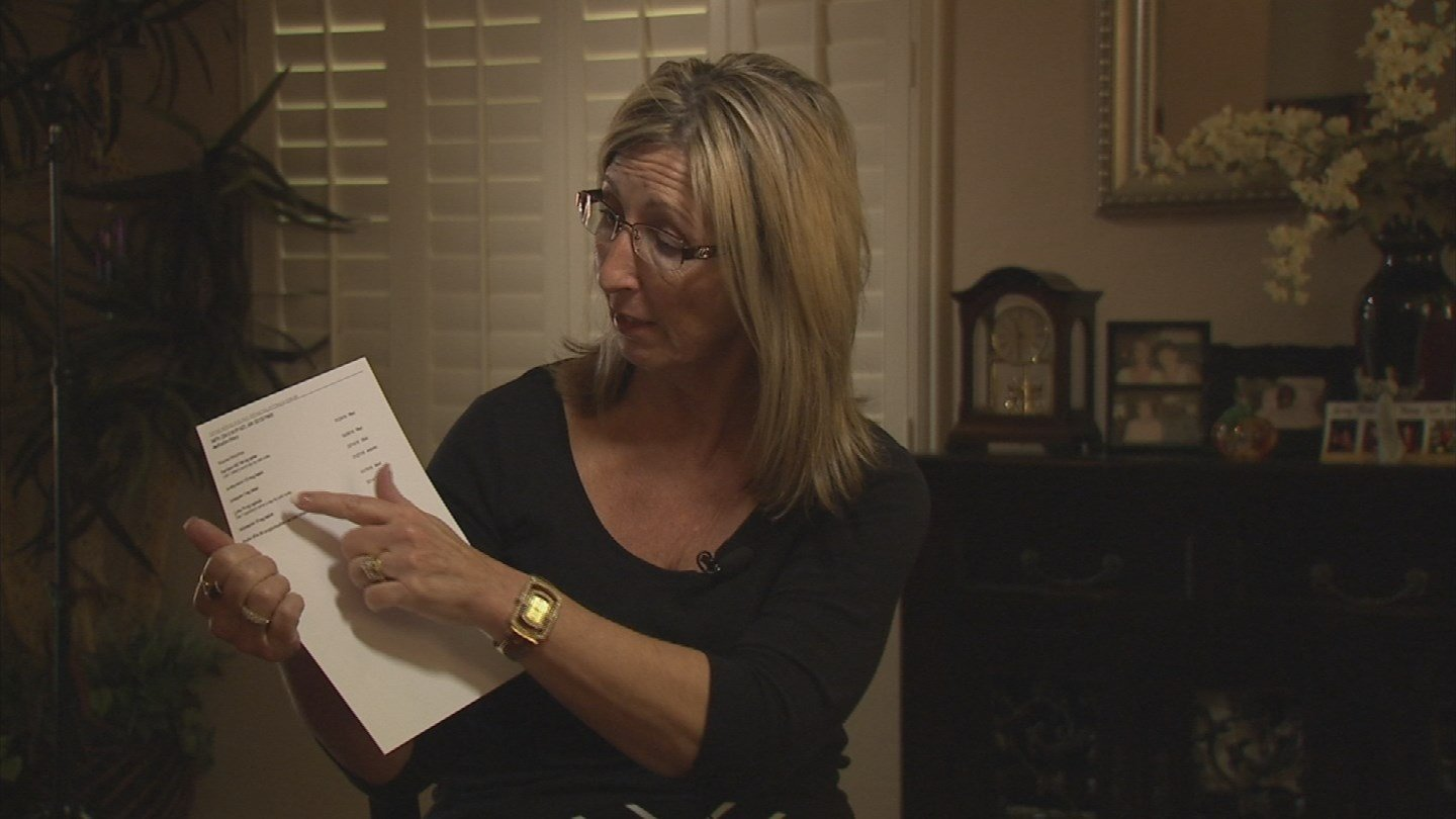 Lisa Smith says she's a victim of a medical information mix-up (Source: KTVK)