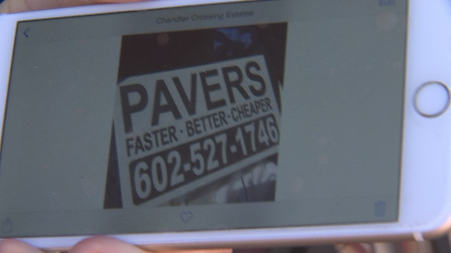 This sign led some Valley homeowners to an unlicensed contractor who almost left them high and dry. (Source: 3TV)