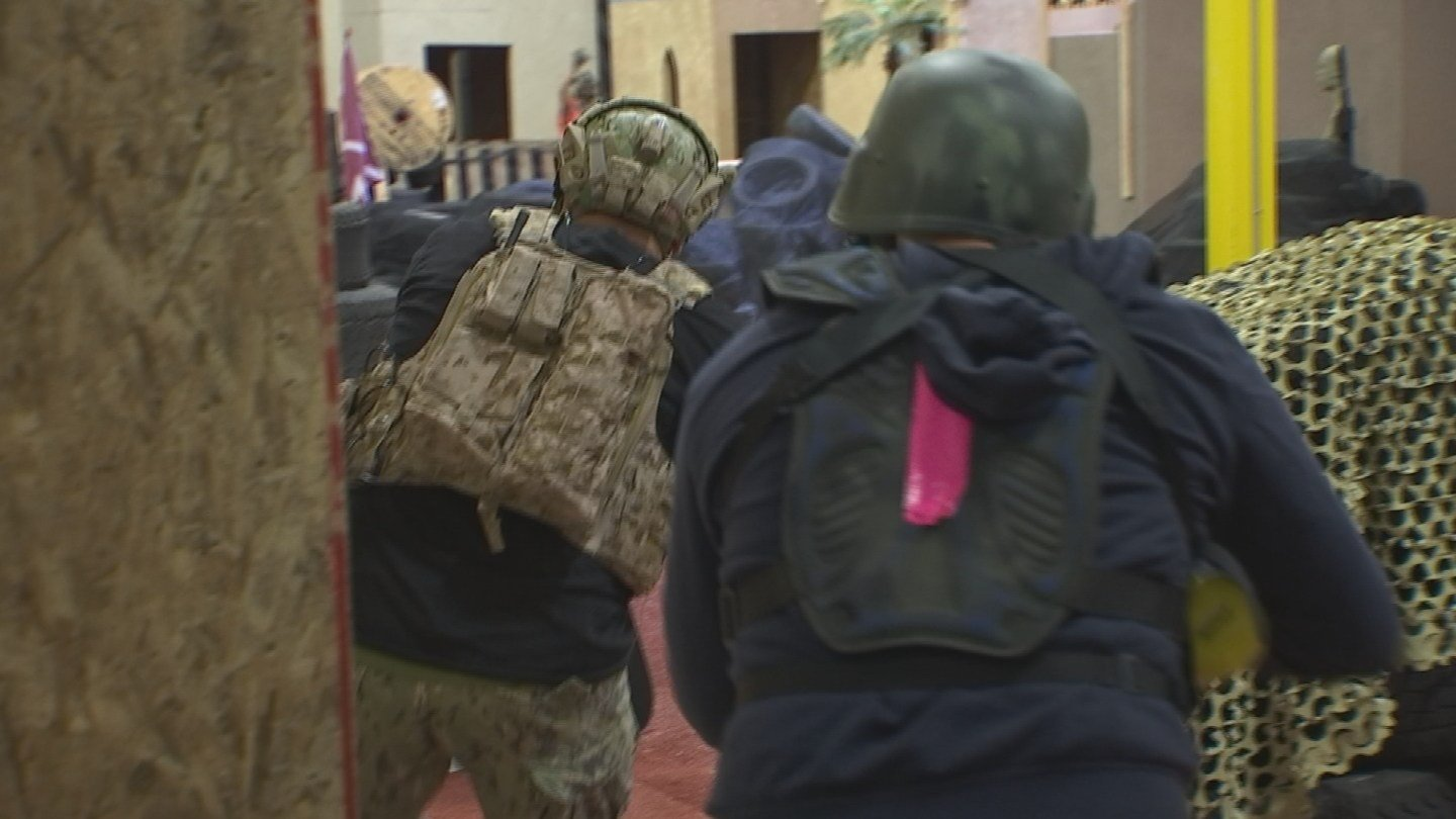 Tacflow team has opened a new Navy SEALs experience for civilians (Source: KPHO/KTVK)