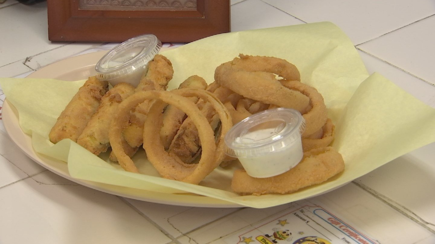 Fried zucchini, onion rings, and, of course, french fries are on the menu here. (Source: 3TV)