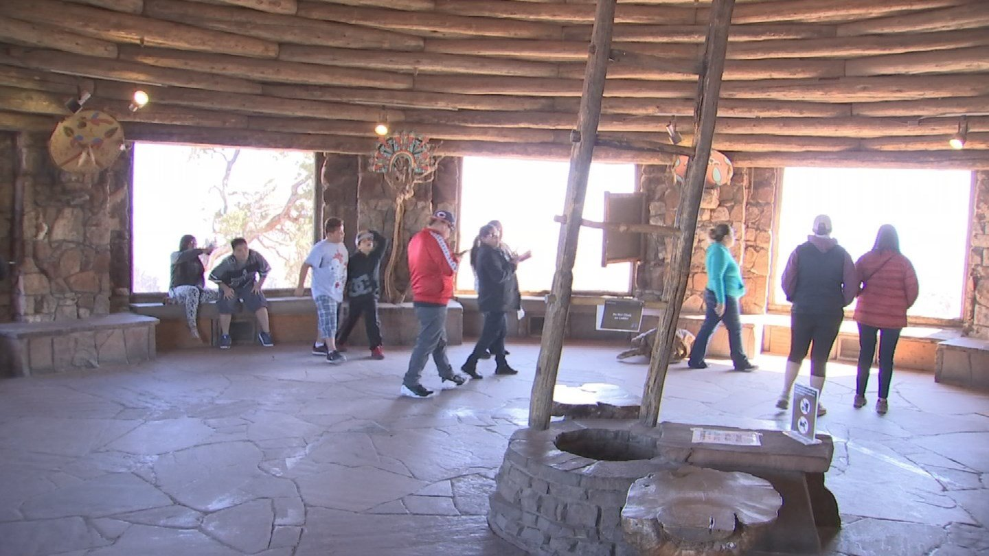 Enjoy the incredible view from the watchtower's windows. (KTVK)