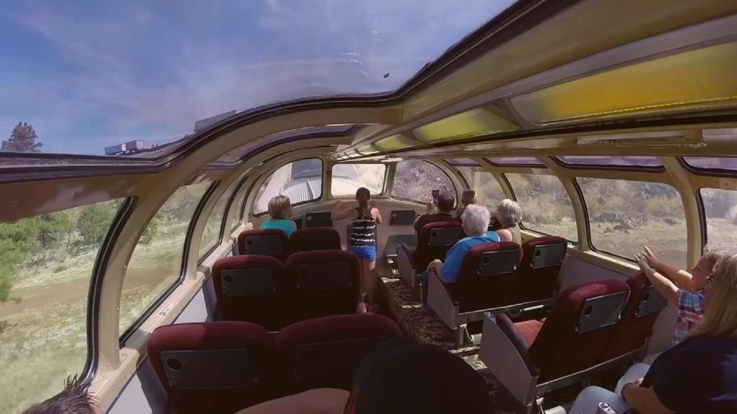 Overhead windows provide a close-to-180-degree view (KTVK)