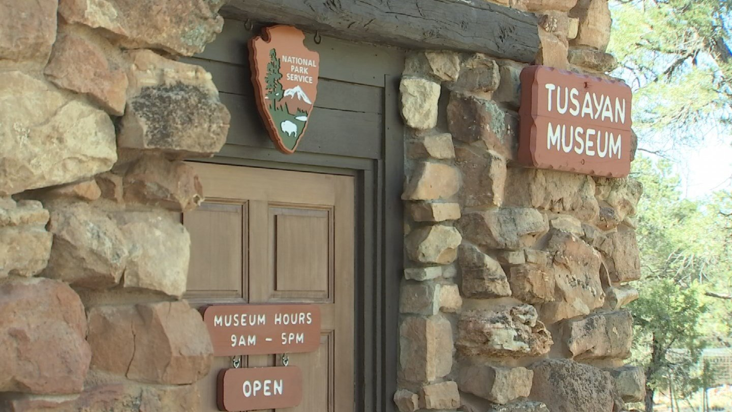 The tiny visitor center contains information about the people who once lived here. (KTVK)