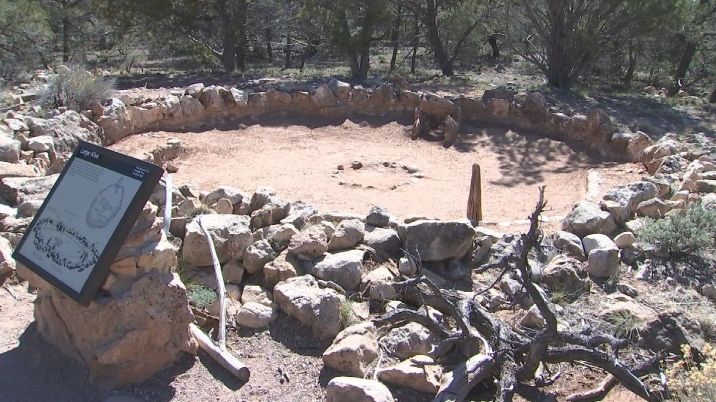 The ruins are estimated to be 800 years old. (KTVK)