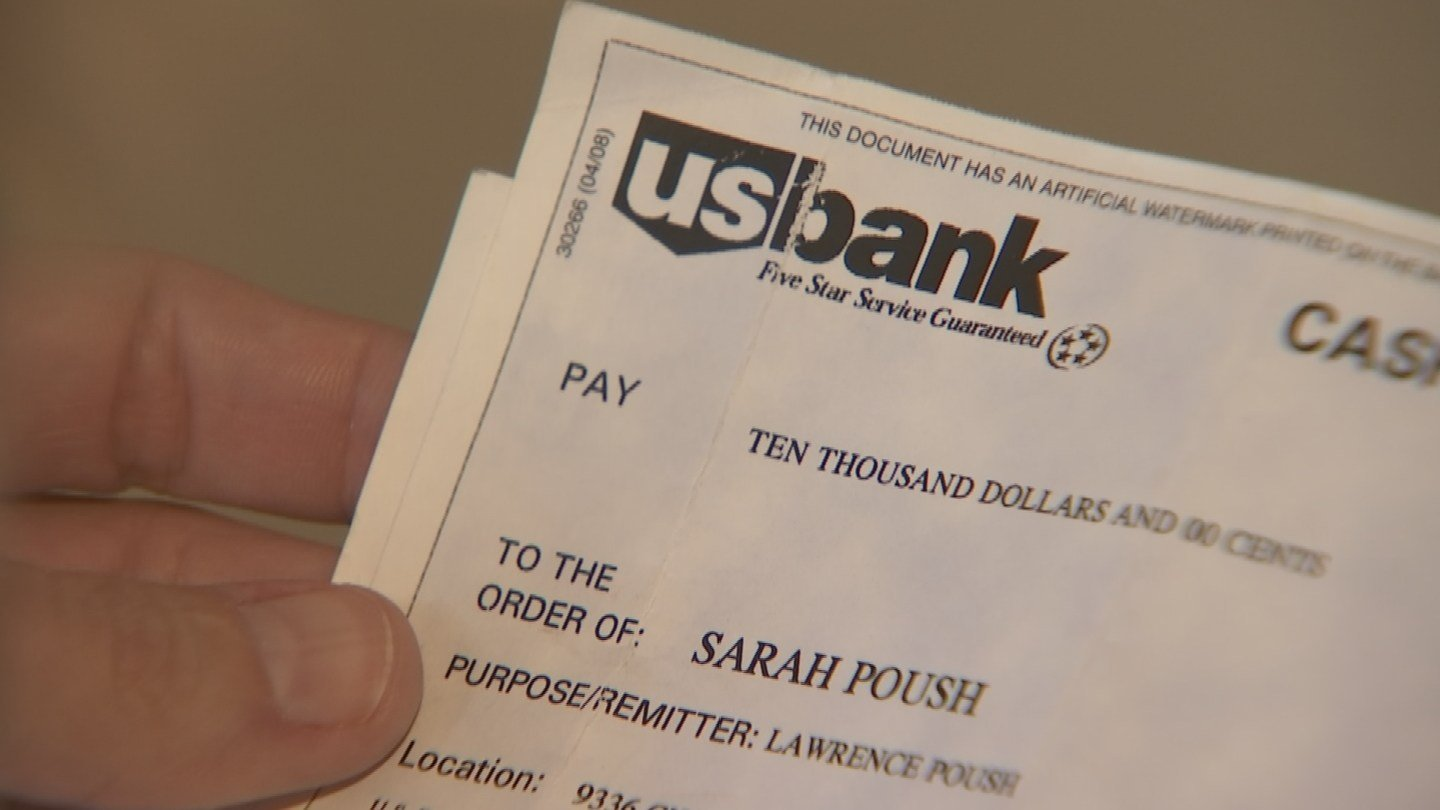A representative of U.S. Bankcorp, formerly U.S. Bank, said cashier's checks expire after three years. (Source: 3TV)