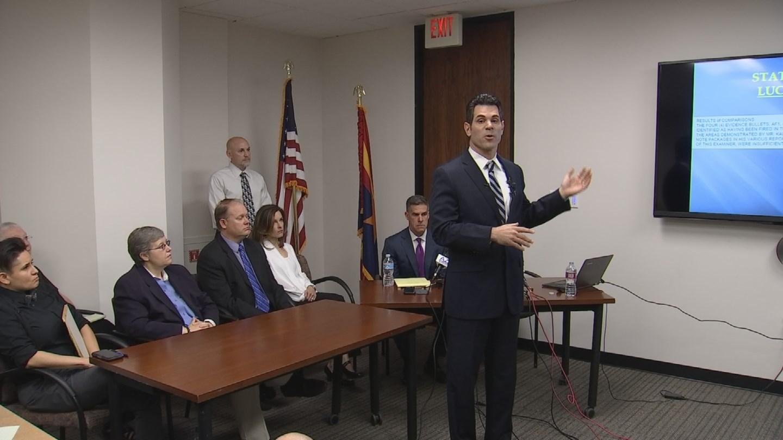 Defense for Leslie Merritt Jr. held a news conference on Thursday morning (Source: KPHO/KTVK)