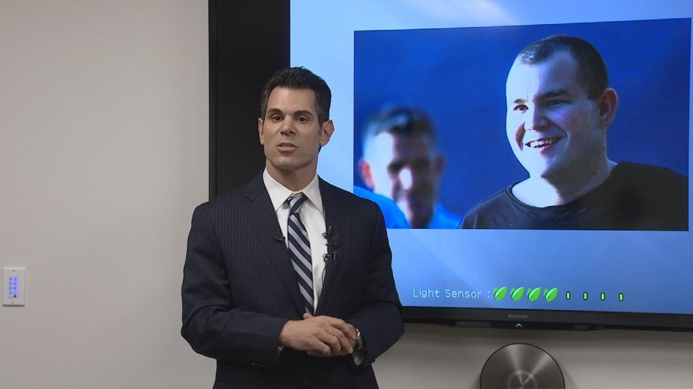 Jason Lamm speaks about the I-10 freeway shootings case on Thursday (Source: KPHO/KTVK)