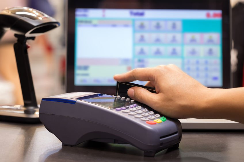 Retailers might have chip-enabled machines, but if they have not been certified, you will have to swipe your card. (Source:  tuthelens via 123RF)