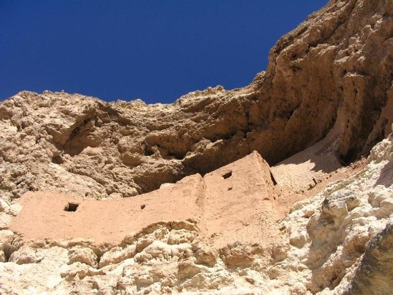 Looking up at Montezuma Castle (Source: National Park Service)