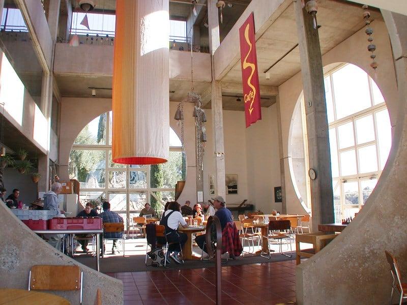 The Cafe at Arcosanti (Source: Arcosanti.org)