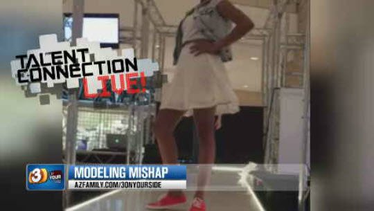 """Some parents are upset with a """"modeling search agency."""" (Source: KPHO/KTVK)"""