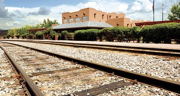 The Verde Canyon Railroad depot in Clarkdale (Source: VerdeCanyonRR.com)