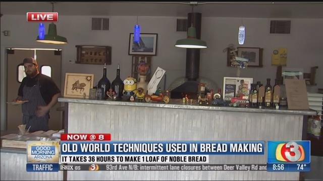 Noble Eatery, home of Noble Bread (Source: 3TV)