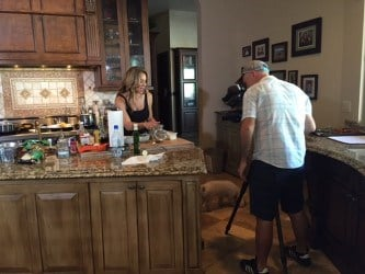 Tiffani Bachus, a registered dietitian and personal trainer, aimed to create easy, healthy meals. (Source: 3TV)