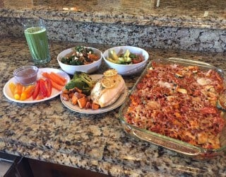 It took this dietitian two hours to whip up four meals plusseveral snacks and she had plenty of food left over. (Source: 3TV)