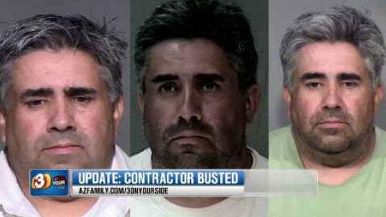 Filiberto Ramos allegedly took $57,000 from homeowners during the past 3 years (Source: KPHO/KTVK)