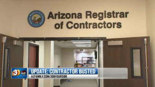 The Arizona Registrar of Contractors urge people to hire registered contractors (Source: KPHO/KTVK)