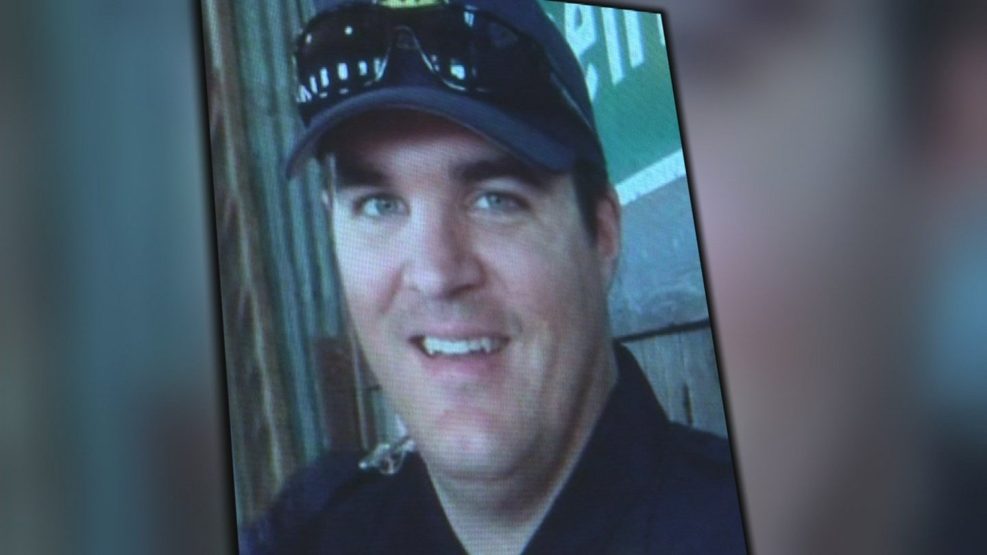 Critically wounded, Officer David Glasser, a 35-year-old husband and father of two small children, was rushed to St. Joseph's Hospital. (Source: 3TV)