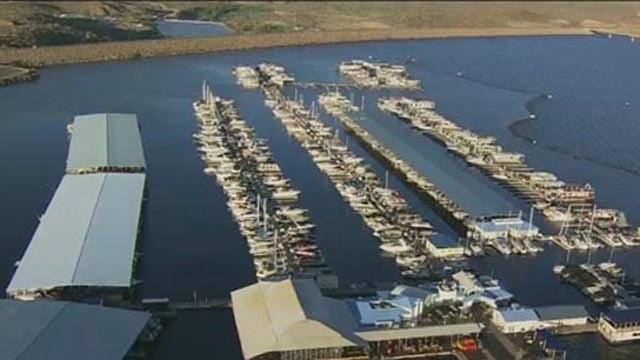 One of the marinas at Lake Pleasant. (Source: Good Morning Arizona/KTVK)