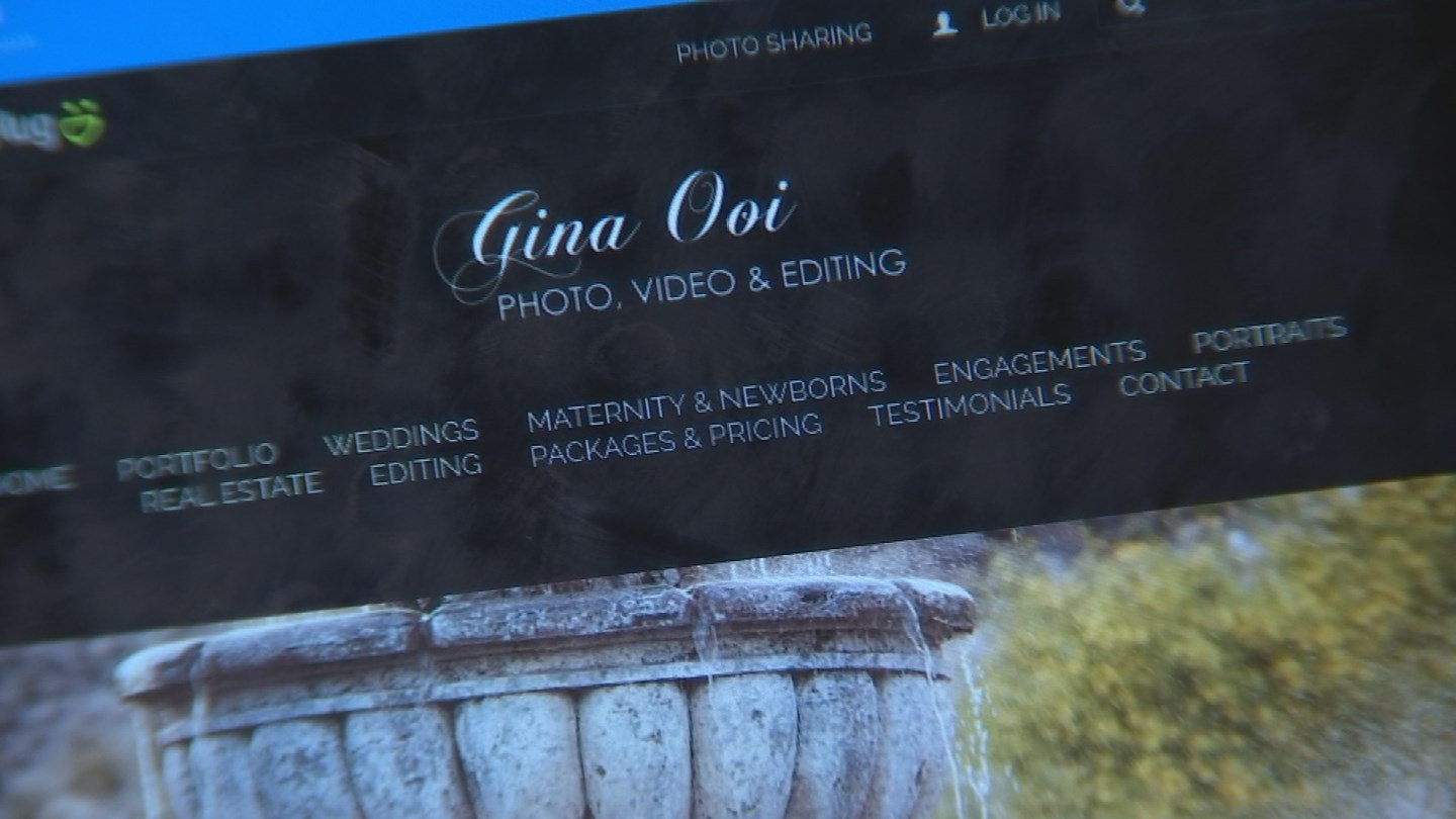 Gina Ooi Photography responded to 3 On Your Side quickly and resolved the issue. (Source: 3TV)