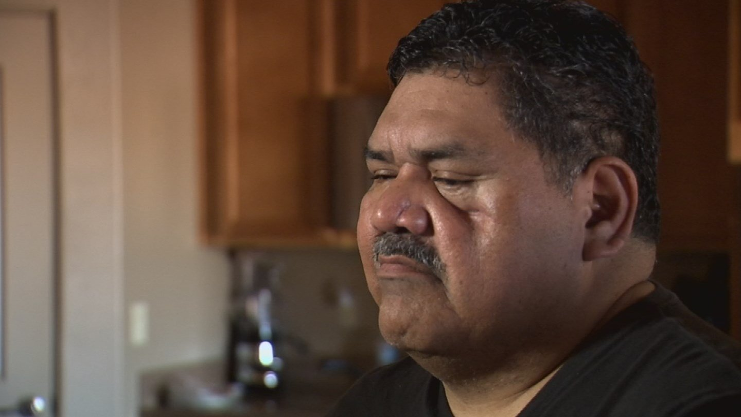 Former Maricopa County Deputy Ruben Garcia nearly died after being shot in the line of duty in January 2013. It's not obvious looking at him, but he's still suffering from those injuries. (Source: 3TV)