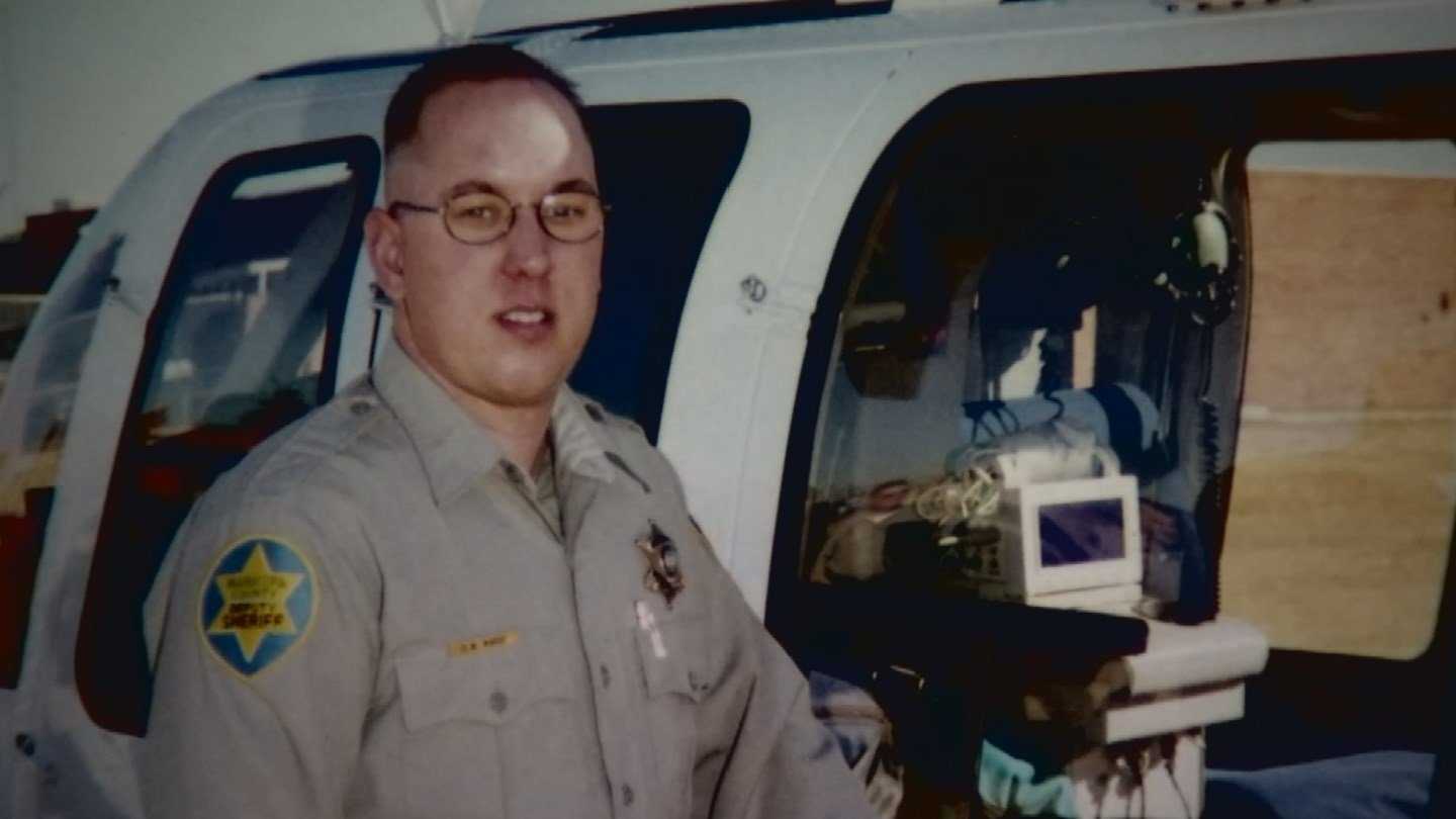 Lisa Wargo's husband David, a SWAT and K9 deputy, was left in a vegetative state after he was dragged by a man in a truck in 2003. (Source: 3TV)