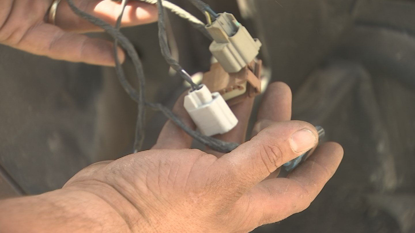 Another faulty repair Radman showed 3 On Your Side. (Source: 3TV)