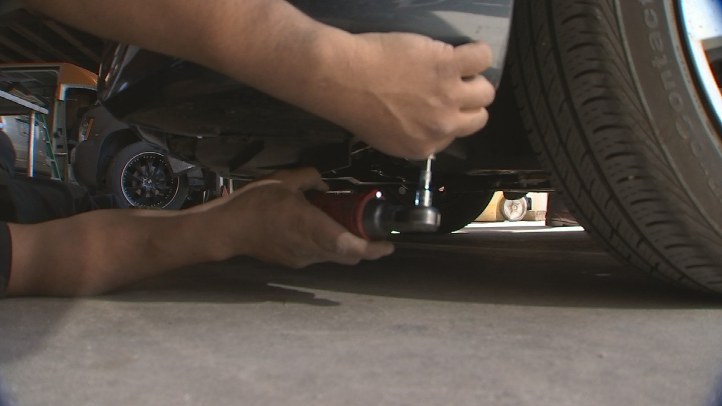 Radman often sees vehicles that have already been 'fixed.'