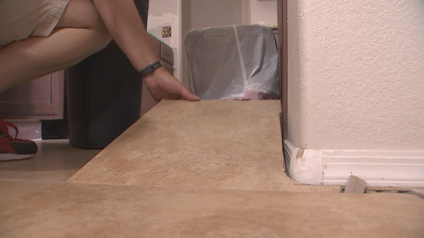 It's a remodeling disaster for a Valley woman (Source: KPHO/KTVK)