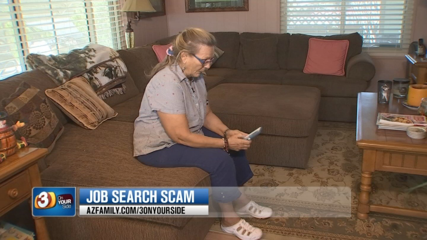 Reynolds says the scammer sent her a fake cashier's check. (Source: KTVK)