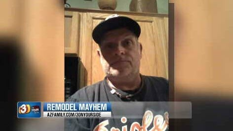 Don Libby is an unlicensed contractor who was hired to do the job (Source: KPHO/KTVK)