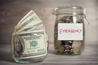 Money experts say you should never raid your emergency fund unless you absolutely have it. It's there for emergencies, not vacations or home improvements. (Source: Take Charge America)