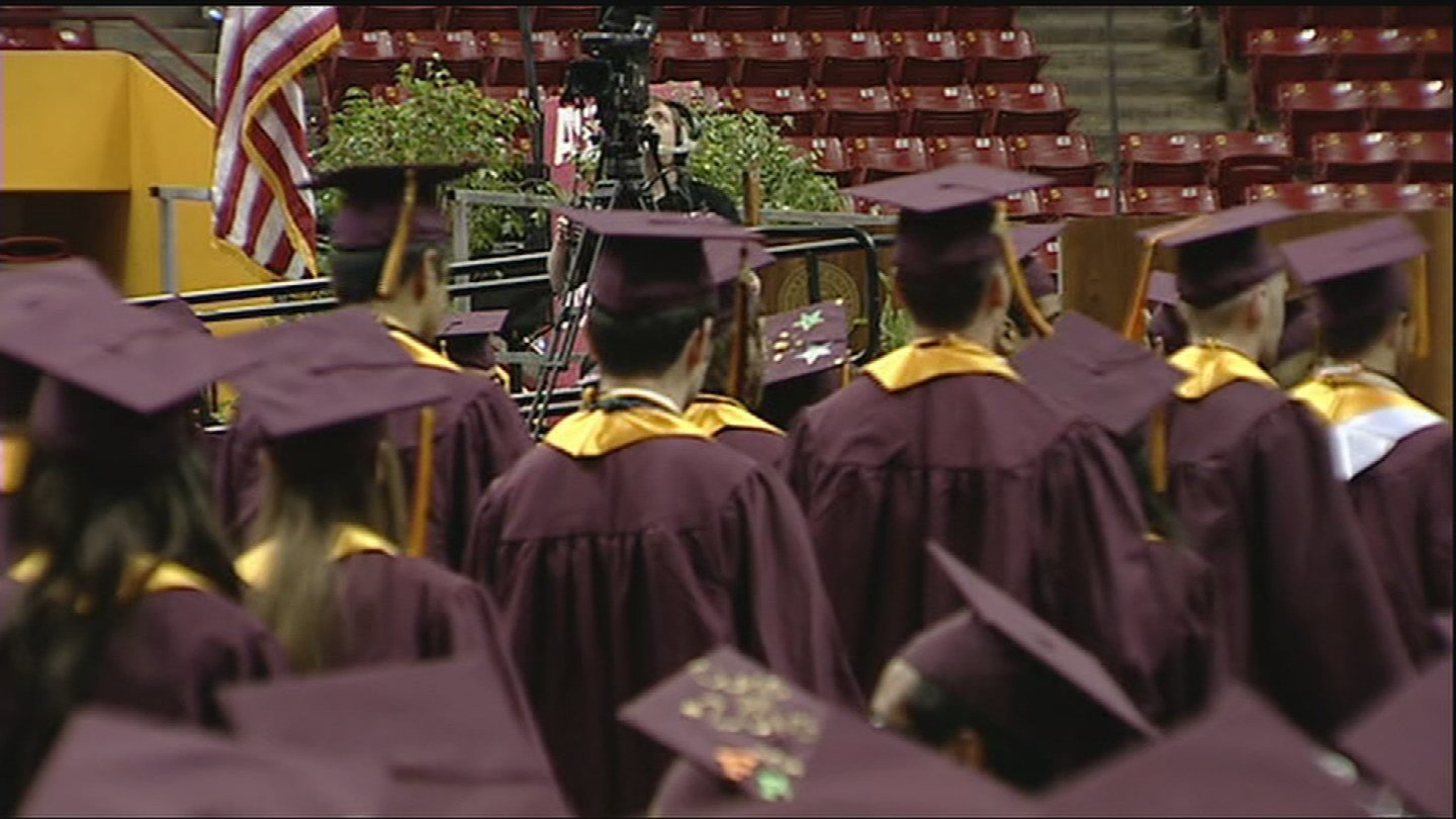 Searching for a job after college can be tough. (Source: KTVK)