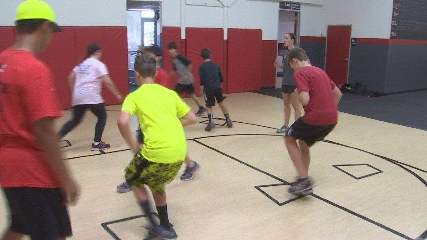 Redline Athletics has staff who have played sports at the collegiate or college level. (Source: KTVK)