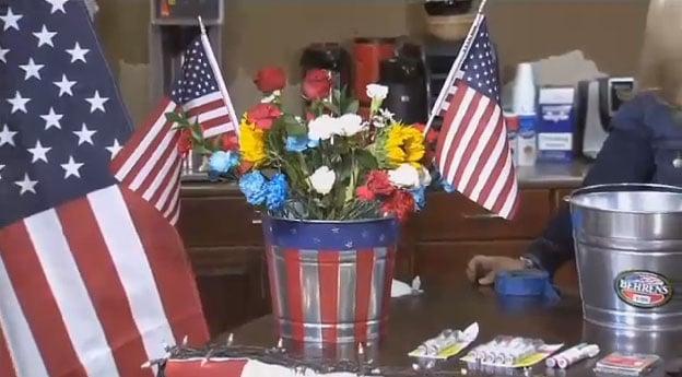 Patriotic bucket (SOurfce: KTVK)