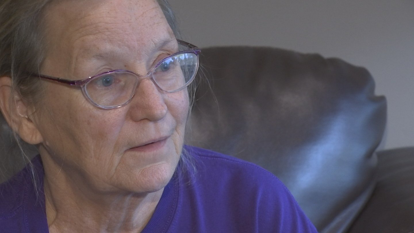 Pauline Mueller refuses to be silenced and wants as many people as possible to watch out for Derek Walker Bollwinkel. (Source: 3TV)