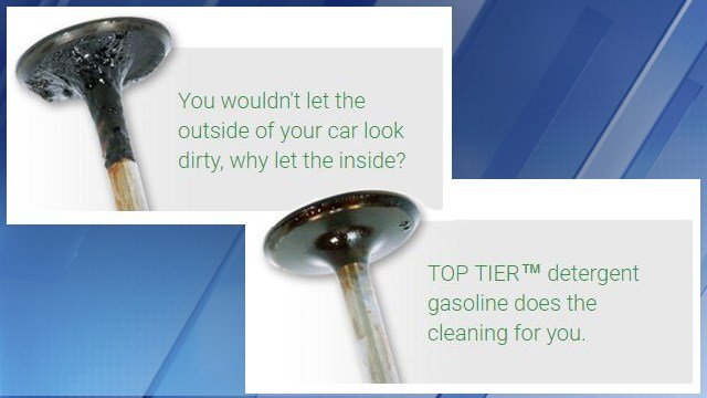 Top Tier gas contains a detergent. (Source: TopTierGas.com)