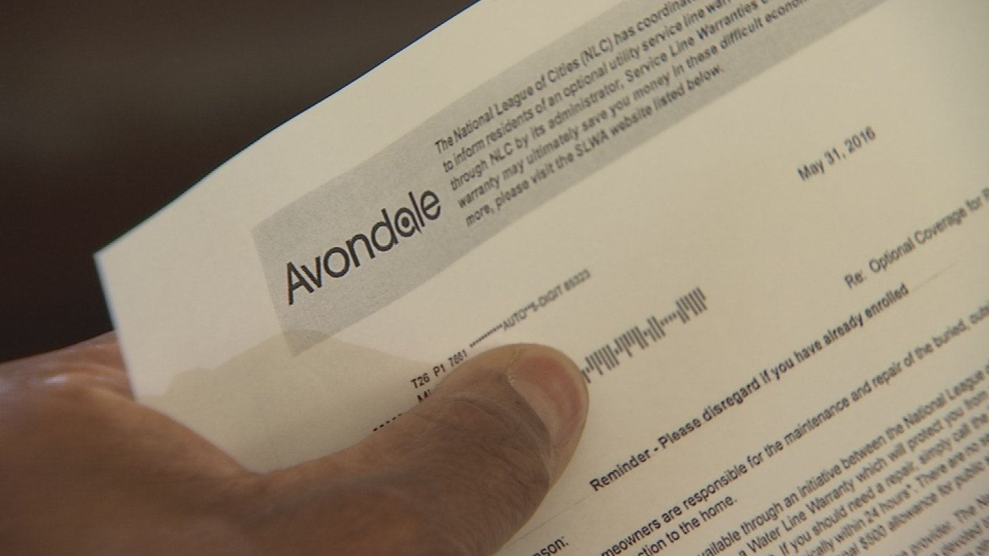 Service Line Warranties is allowed to use city logos on their mailers. (Source: KPHO/KTVK)