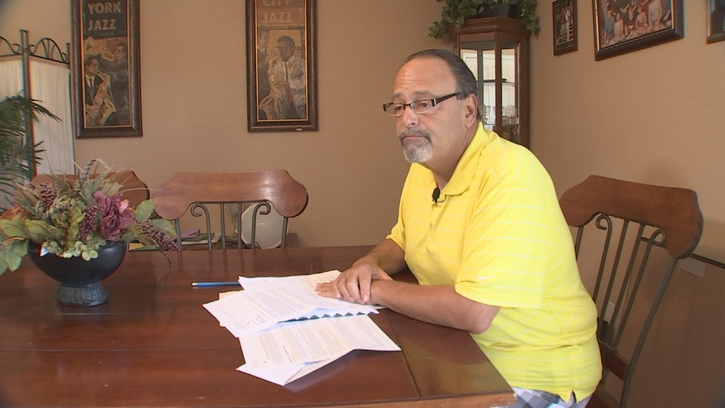 Stuart Brussels filed his taxes in February, but he's still waiting for his refund -- nearly $1,500. (Source: 3TV)
