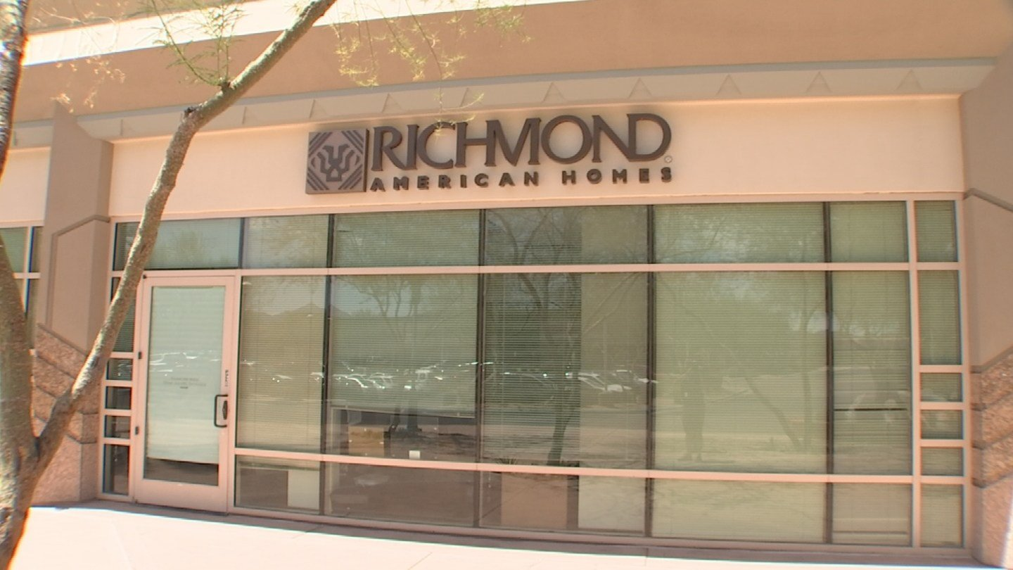 Gary Harper went to the corporate headquarters of Richmond American Homes, sure someone would be willing to discuss this stinking problem. Nobody was and the company never got back to 3 On Your side. (Source: 3TV)