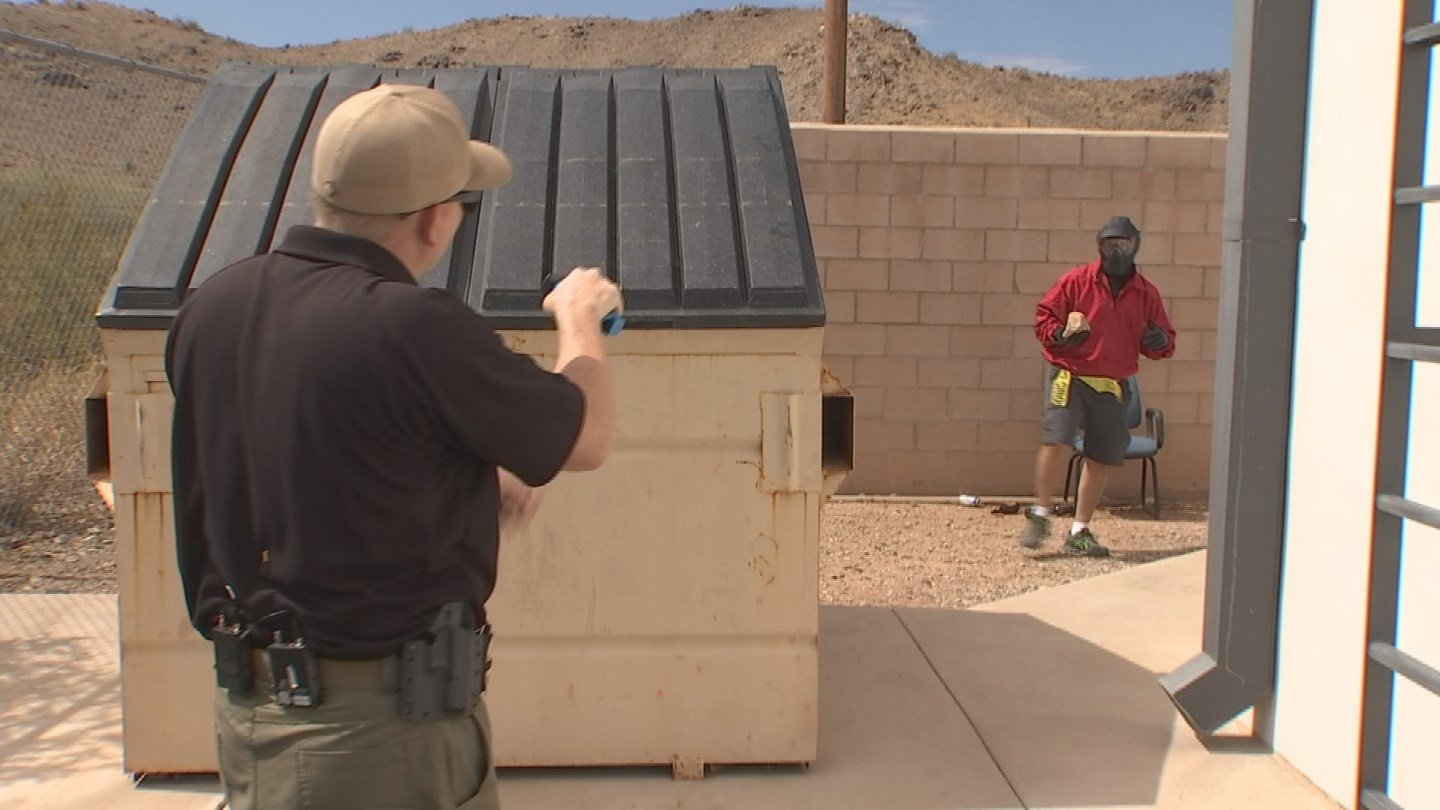 The Phoenix Police Department is using de-escalation training for every officer. (Source: KTVK)