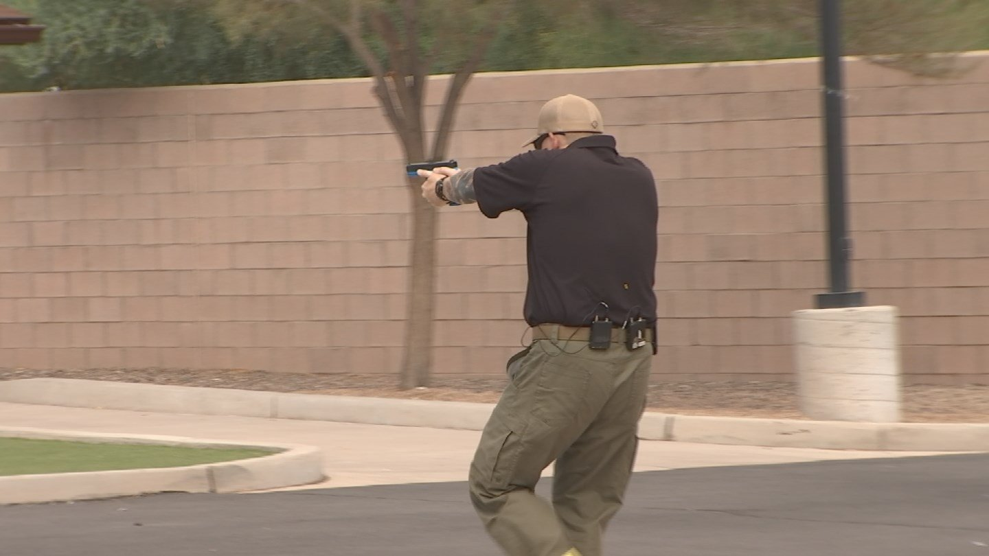 The department hopes the special training will result in less deadly shootings involving police. (Source: KTVK)