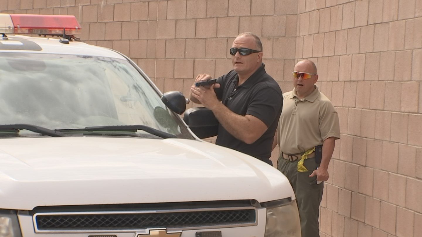 Police are nowbeing taught to act as if they're always being recorded. (Source: KTVK)