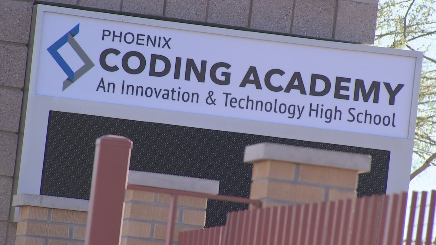 Phoenix Coding Academy is the first school of its kind in the country. (Source: 3TV)
