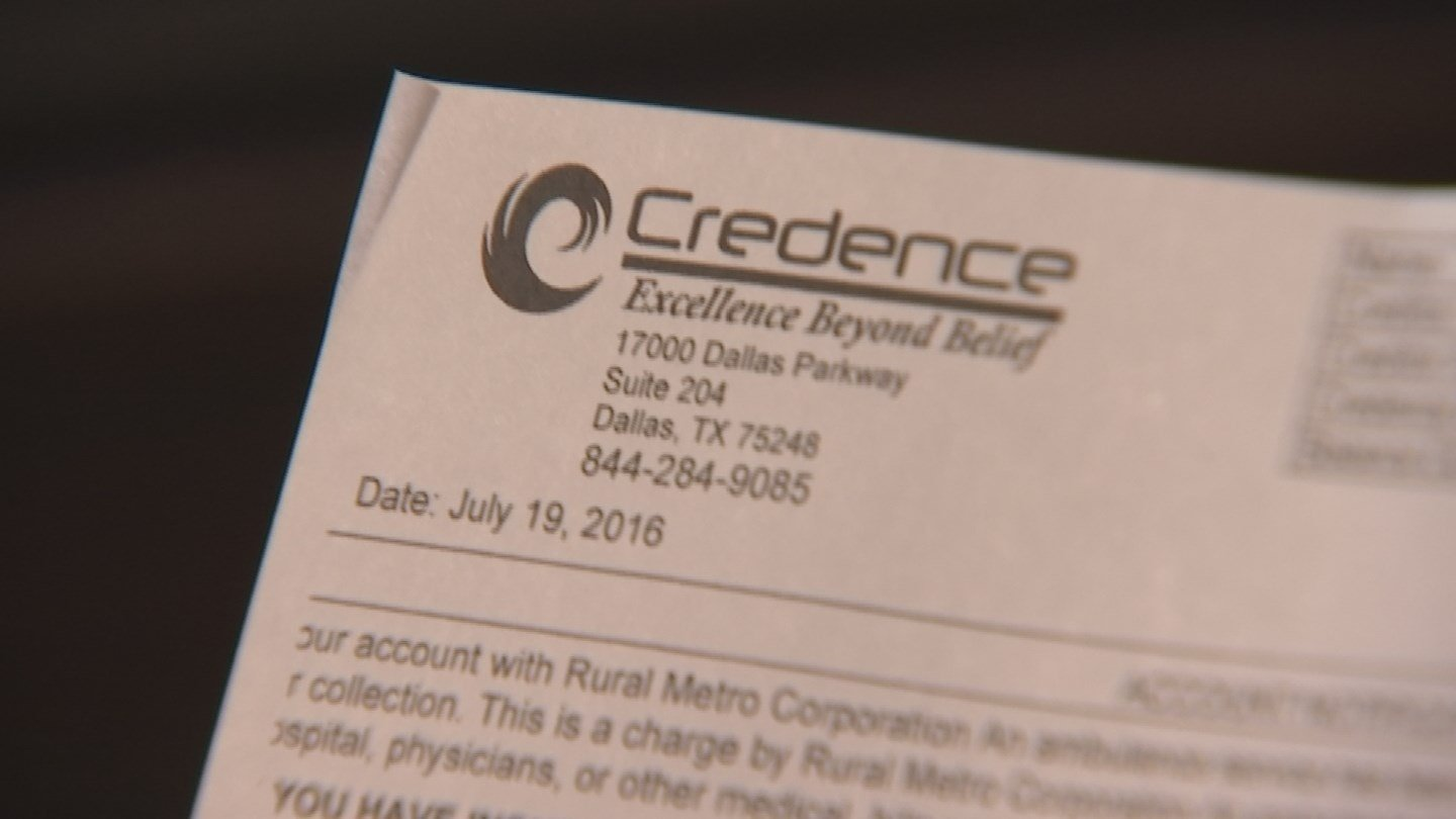 Marie Gerdes has spent a considerable amount of her energy fighting a $1,019 bill from a debt collection agency called Credence. (Source: 3TV)