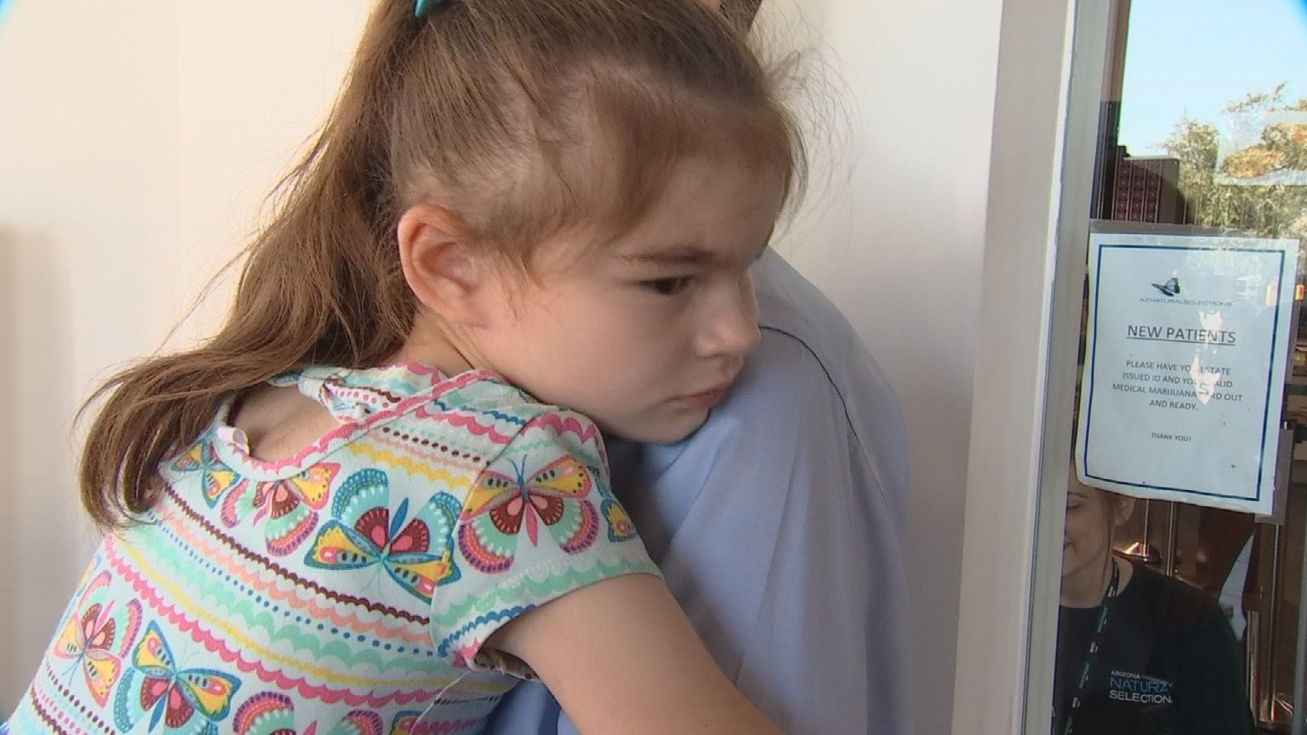 Medical marijuana has proven to be a game changer for JP Holyoak's daughter. (Source: 3TV)