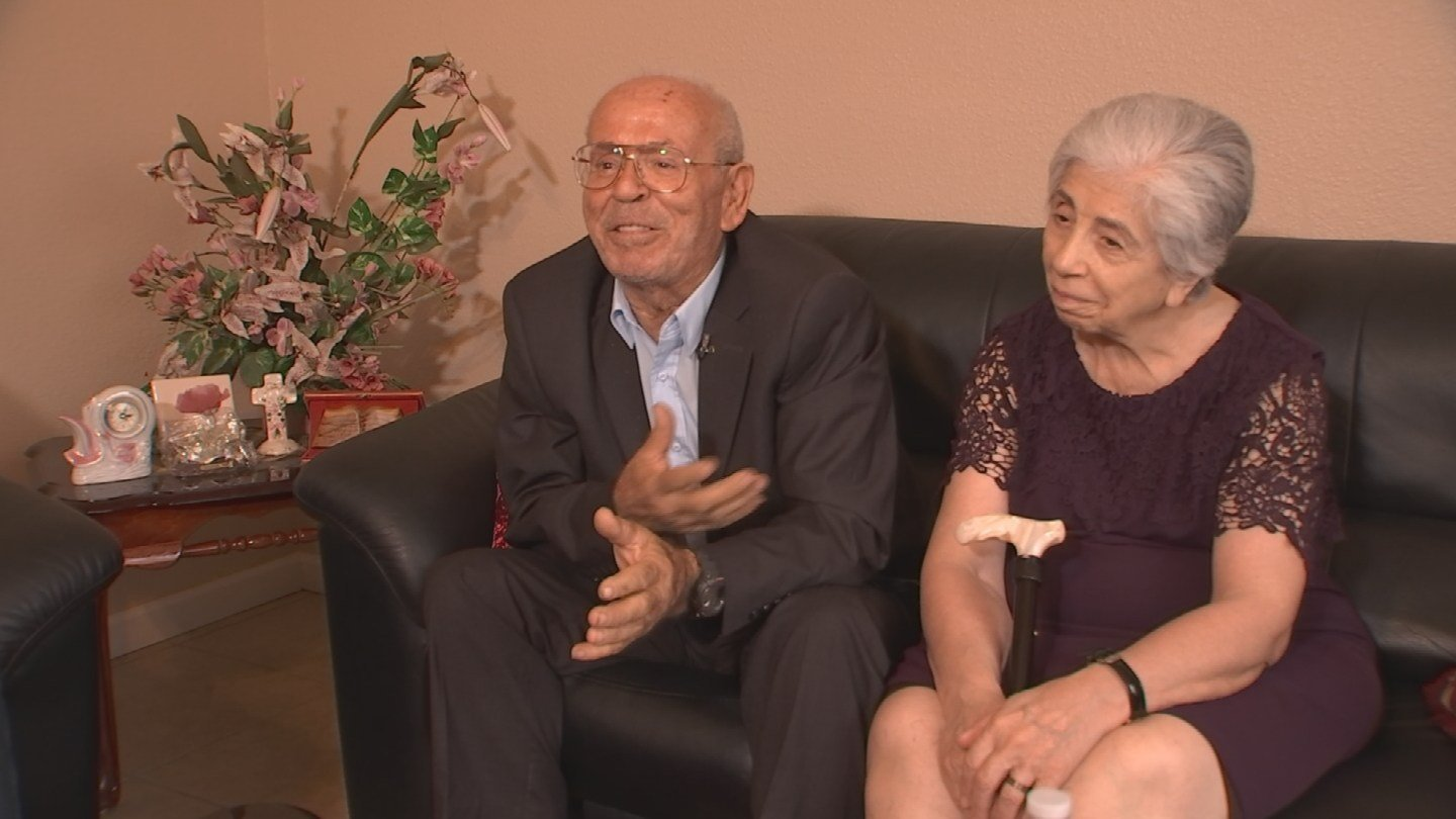 Sam and Widad Jacobs just celebrated their 50th wedding anniversary. (Source: 3TV)